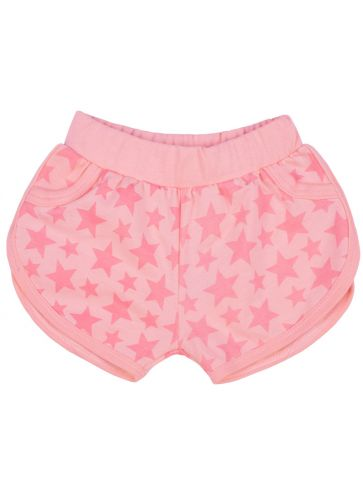 Pantalón corto k rosa estrella Rosa claro