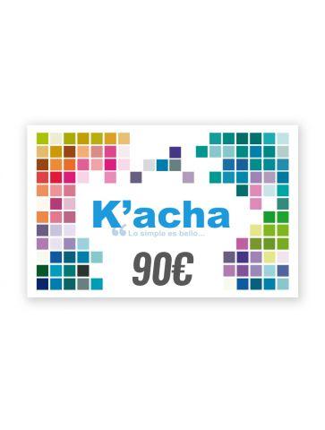 Cartão presente de 90€ Branco