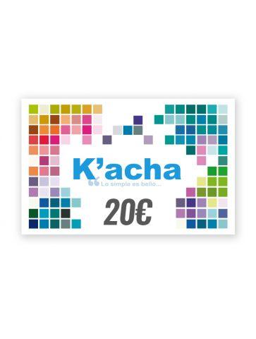 Gift card 20€ White