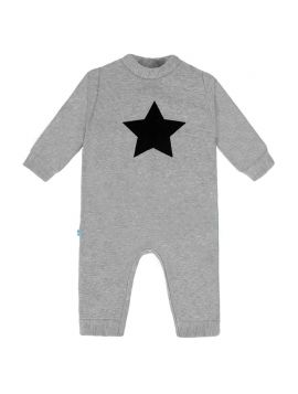 ROMPERS FLEECE STARS