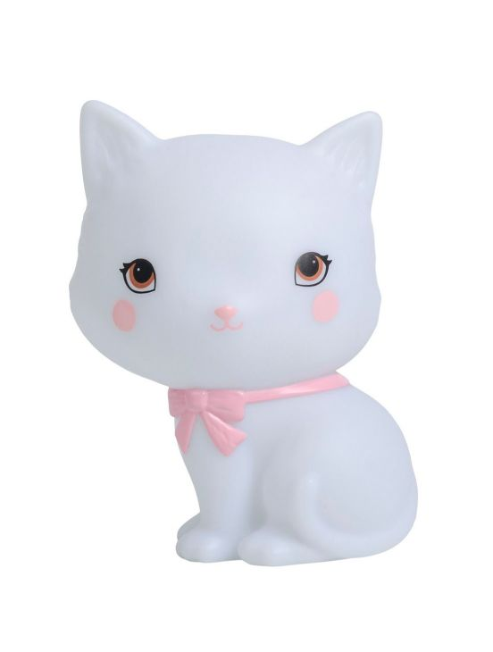 Mini luz kitty Branco