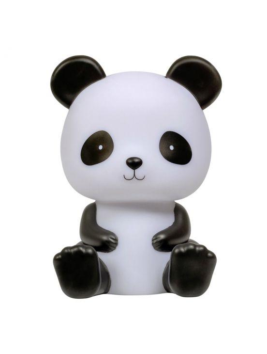 Luz de noche panda Blanco