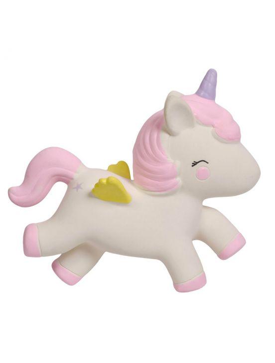 Mordedor unicornio Blanco