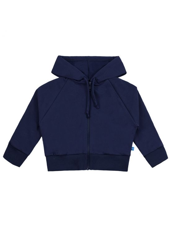 Jacket fleece zip up Navy blue