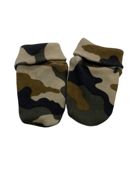 Mittens camouflage Olive green