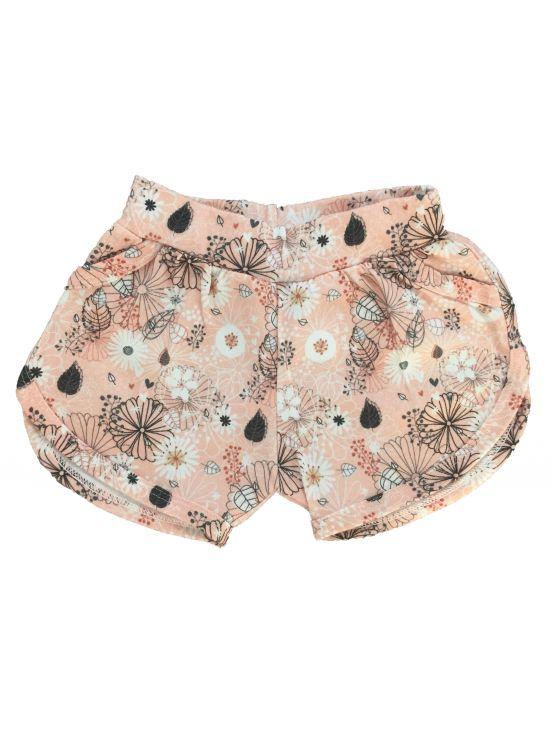 Pantalón corto k flores Coral