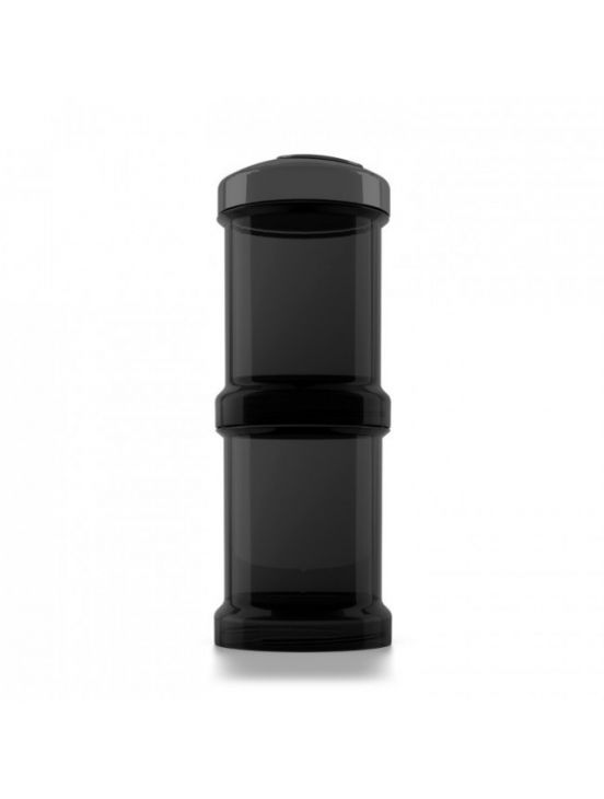 Twistshake dispenser 2x100 ml Black