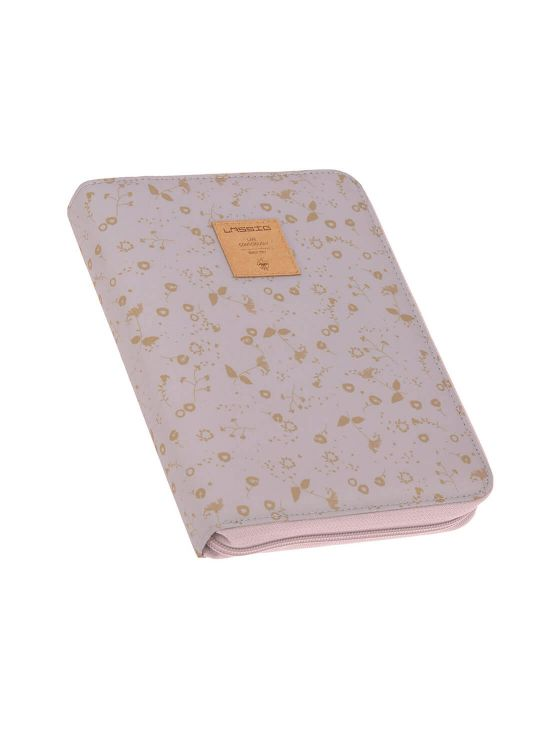 POUCH FLOWERS DOCUMENT HOLDER