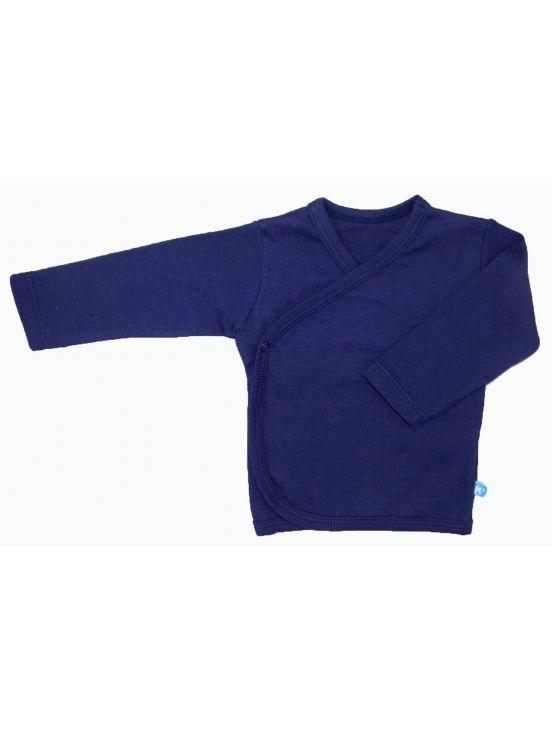Camiseta cruzada m-l Azul marino