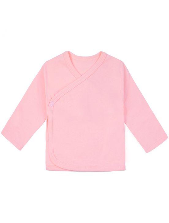 Camiseta cruzada m-l Rosa claro