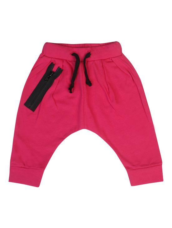 Pantalón zipper Fucsia