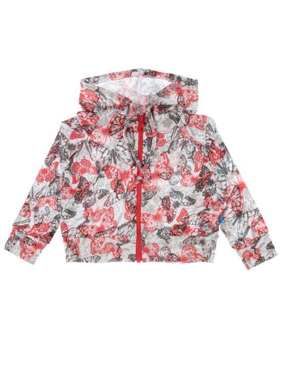 Mikoakan cotton jacketNew coral