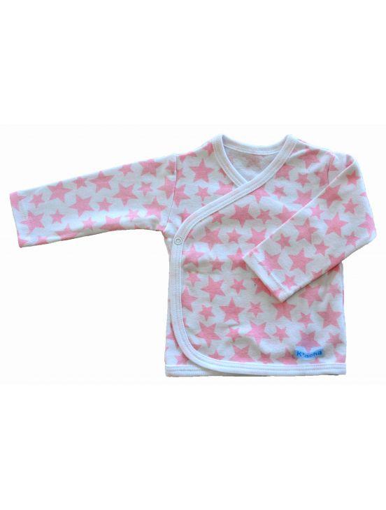 Camiseta cruzada m-l stars Blanco