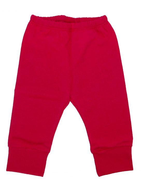 Pantalón largo felpa Fucsia