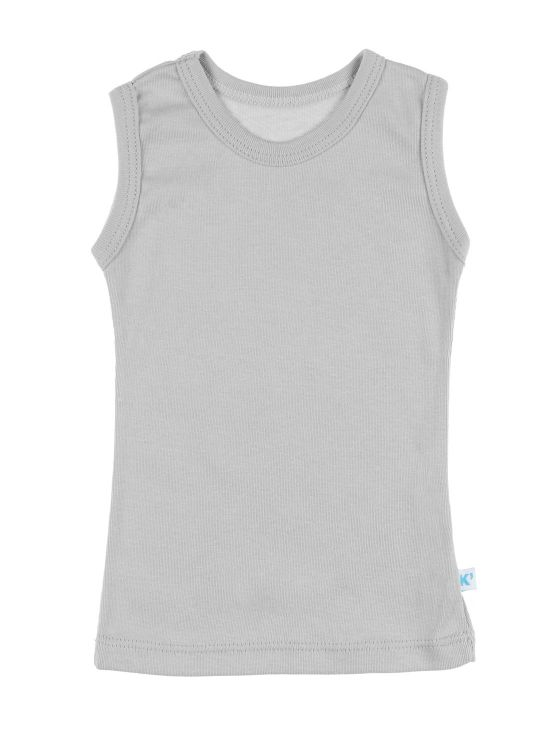 Camiseta sin mangas Cinzento claro
