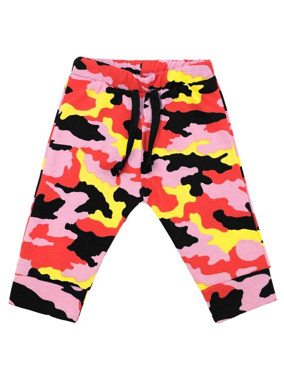 CAMOUFLAGE BOMBACHO TROUSERS