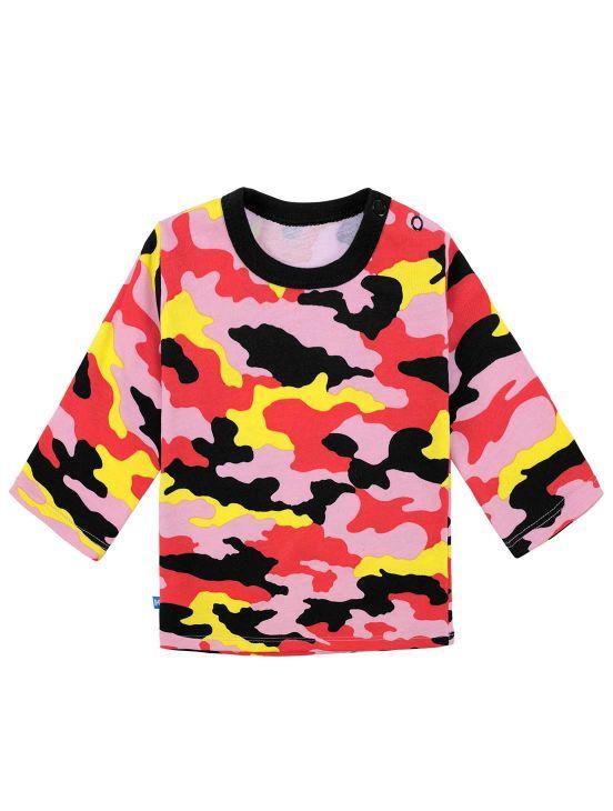 Camiseta m-l camuflaje New coral