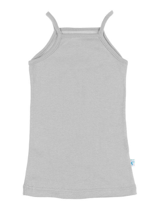Camiseta tirantes Cinzento claro