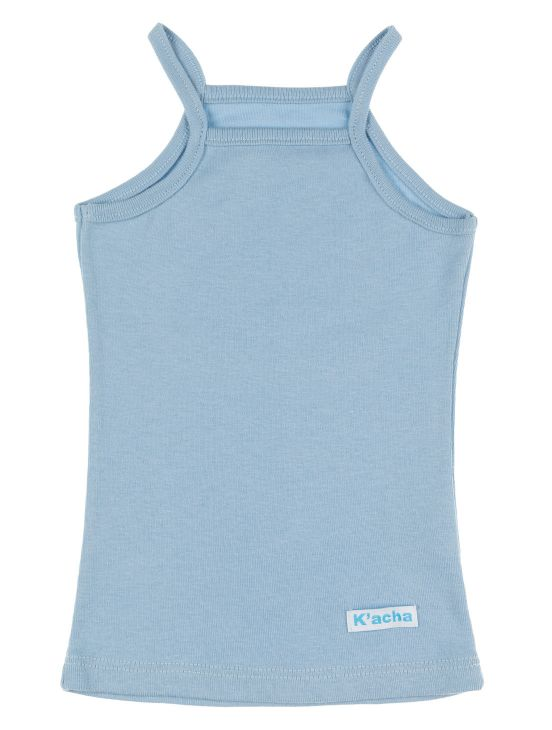 Camiseta tirantes Azul claro