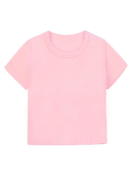 Camiseta manga corta Rosa claro