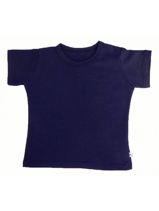 Camiseta manga corta Azul marinho