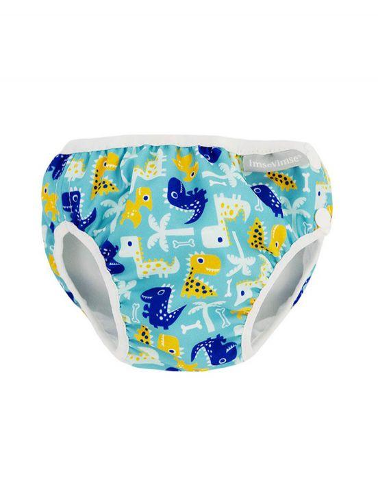 Dino diaper swimsuitTurquesa