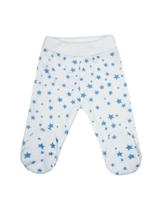 Polaina bebé estrellita Azul claro