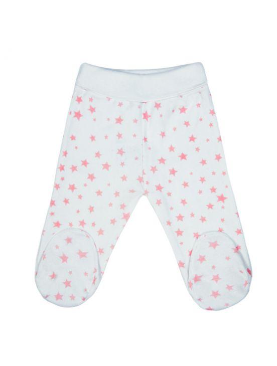 Leggings de bebê estrelaBranco
