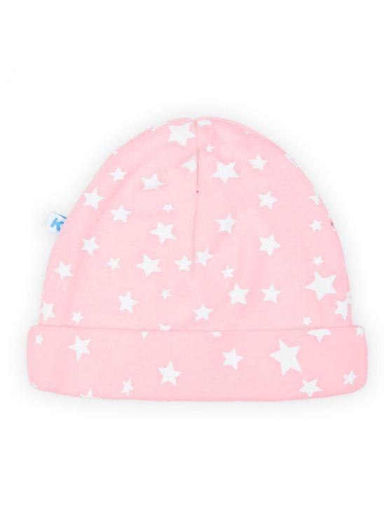 Chapéu estrela de bebêRosa claro