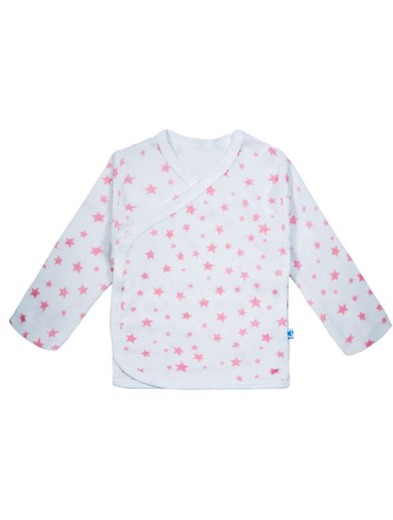 T-shirt stella ml incrociataBianco
