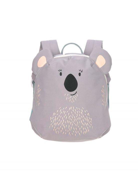 Mini mochila koala lassig Gris claro