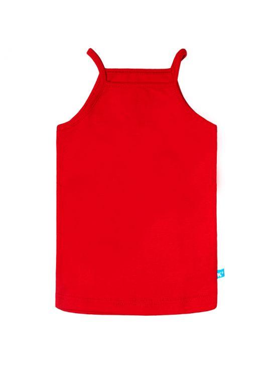Camiseta tirantes Rojo