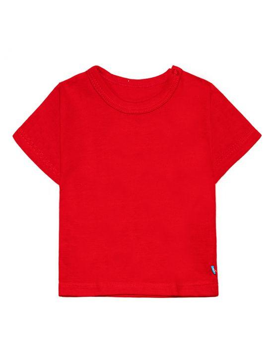 Camiseta manga corta Rojo