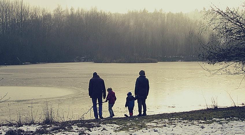 Planes con niños en invierno